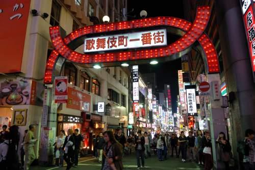 龍が如くのモデル舞台となった歌舞伎町